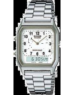 Chic Time | Montre Homme Casio AQ-230A-7BMQ Argent  | Prix : 40,00€