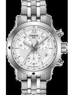 Chic Time | Montre Femme Tissot PRC 200 fencing T0552171101800 Chronographe en acier argenté  | Prix : 480,00€