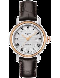 Chic Time | Montre Femme Tissot Bridgeport T0970072603300 Bracelet en cuir brun  | Prix : 710,00€