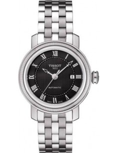Chic Time | Montre Femme Tissot Bridgeport T0970071105300 Bracelet en acier inoxydable argenté  | Prix : 680,00€