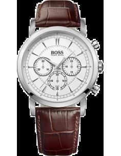Chic Time | Montre Homme Hugo Boss 1512871 Bracelet brun en cuir  | Prix : 364,65€