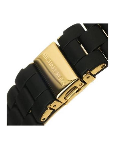 Chic Time | Montre Femme Michael Kors MK5191 Noir et Or Calendaire  | Prix : 237,15€