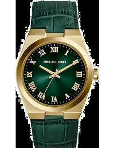 Chic Time | Montre Femme Michael Kors Channing MK2356 Bracelet vert en cuir  | Prix : 119,99€