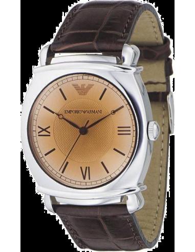 Chic Time | Montre Homme Emporio Armani AR0264 Classic Brun pour Homme  | Prix : 228,90€
