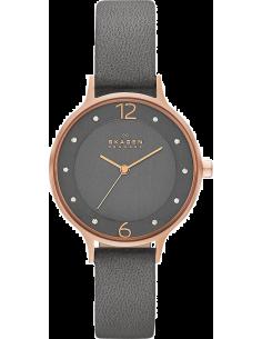 Chic Time | Montre Femme Skagen Anita SKW2267 Bracelet en cuir gris  | Prix : 79,99€