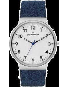 Chic Time | Montre Homme Skagen Ancher SKW6098 Bracelet textile bleu  | Prix : 195,30€