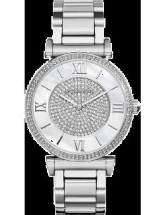 Chic Time | Montre Femme Michael Kors Catlin MK3355 en acier inoxydable argenté  | Prix : 237,15€