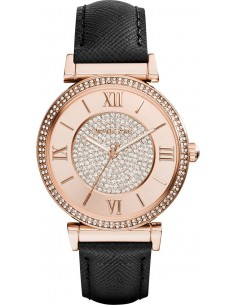 Chic Time | Montre Femme Michael Kors Catlin MK2376 Noir  | Prix : 211,65€