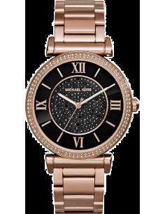 Chic Time | Montre Femme Michael Kors Catlin MK3356 Bracelet doré rose en acier inoxydable  | Prix : 237,15€