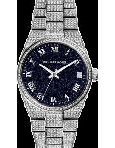Chic Time | Montre Femme Michael Kors Channing MK6089 Cadran pailleté noir à index argentés  | Prix : 407,15€