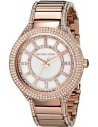 Chic Time | Montre femme Michael Kors Kerry MK3313 dorée rose maillons rectangulaires  | Prix : 237,15€