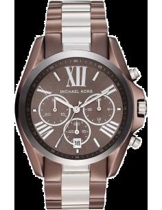 Chic Time | Montre Femme Michael Kors Bradshaw MK5664 Tons brun et argenté  | Prix : 139,99€