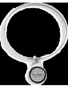 Chic Time | Bracelet Guess argenté logo strass  | Prix : 69,00€