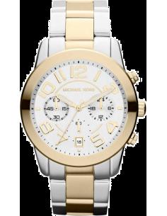 Chic Time | Montre Femme Michael Kors Mercer MK5748 Bracelet deux tons en acier inoxydable  | Prix : 254,99€