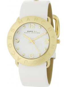 Chic Time   Montre Femme Marc Jacobs Amy MBM1150 Blanc    Prix : 239,00€