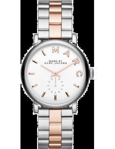 Chic Time | Montre Femme Marc by Marc Jacobs Baker MBM3312 Index bâtons et lettres or rose  | Prix : 207,20€