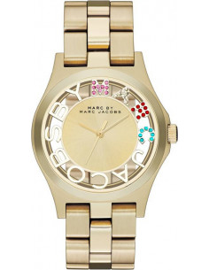 Chic Time | Montre Femme Marc Jacobs Henry MBM3263 Or  | Prix : 279,00 €