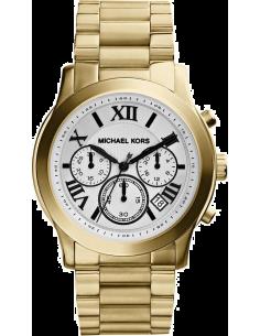 Chic Time | Montre Femme Michael Kors Mercer MK5916 Bracelet large doré en acier  | Prix : 212,50€