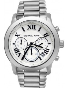 Chic Time | Montre Femme Michael Kors Mercer MK5928 Argent  | Prix : 237,15€
