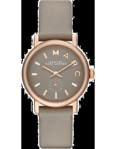 Montre Femme Marc by Marc Jacobs Baker MBM1318 Bracelet en cuir gris taupe