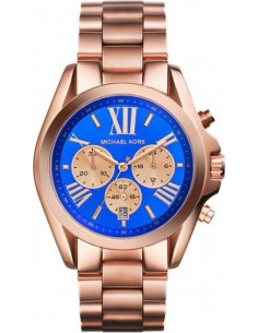Chic Time | Montre Michael Kors Bradshaw MK5951 Chronographe or rose en acier  | Prix : 211,65 €