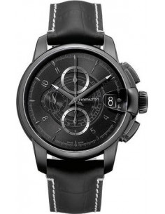 Chic Time | Montre Homme Hamilton Timeless Classic Railroad Chrono H40686335  | Prix : 2,094.00