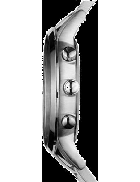 Chic Time   Montre Armani Renato AR2448 bracelet en acier fond bleu    Prix : 174,50€