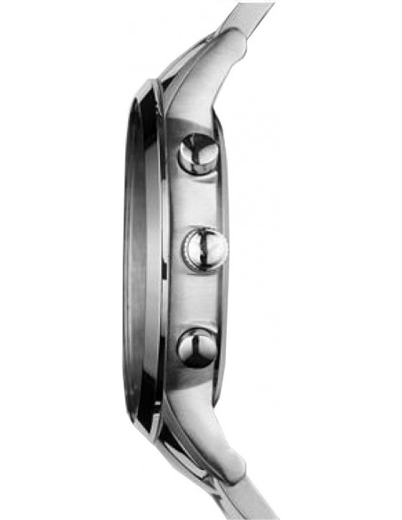 Chic Time | Montre Emporio Armani Renato AR2448 bracelet en acier fond bleu  | Prix : 179,50€