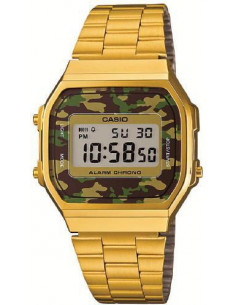 Chic Time | Montre Mixte Casio Vintage A168WEGC-3EF Or  | Prix : 65,00 €