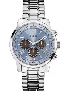 Chic Time | Montre Homme Guess W0379G6 Argent  | Prix : 159,20 €