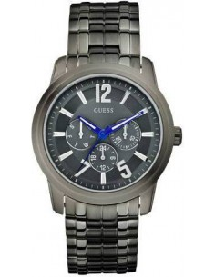 Chic Time | Guess  - Montre Homme Guess W13591G1 Gris  - Prix : 124,00 €
