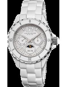 Chic Time | Montre Femme Akribos XXIV AK596WT Blanc  | Prix : 119,00€