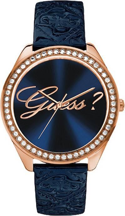 Montre Femme Guess W0570L2 Bleu à 155,00 € ➤ Revendeur Agréé