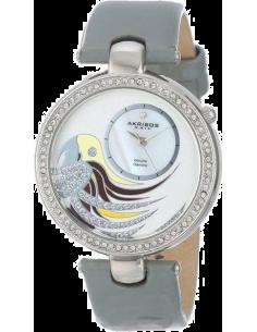 Chic Time | Montre Femme Akribos XXIV AK602GY Gris  | Prix : 179,00€