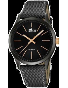 Chic Time | Montre Lotus Smart Casual L18165/2 Tissu et acier anthracite  | Prix : 99,00€