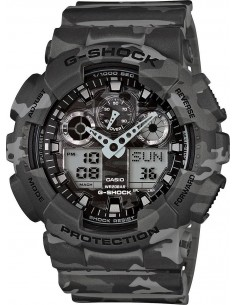 Chic Time | Montre Homme Casio G-Shock GA-100CM-8AER Gris  | Prix : 199,00 €