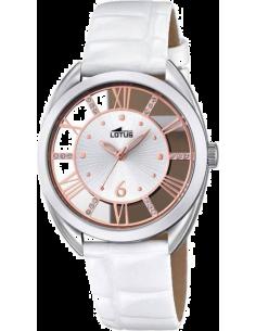 Chic Time | Montre Femme Lotus Trendy L18224/1 Blanc  | Prix : 99,00€