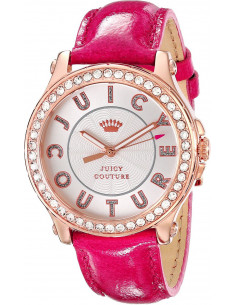 Chic Time | Montre Femme Juicy Couture Pedigree 1901204 Rose  | Prix : 199,00 €