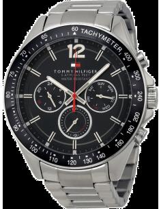 Chic Time | Montre Homme Tommy Hilfiger Sophisticated 1791104 Bracelet couleur argentée en acier  | Prix : 189,00€