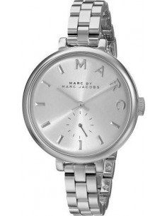 Chic Time | Montre Femme Marc Jacobs Baker MBM3362 Argent  | Prix : 199,00€