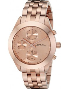 Chic Time | Montre Femme Marc by Marc Jacobs Peeker MBM3394 Or Rose  | Prix : 279,00€