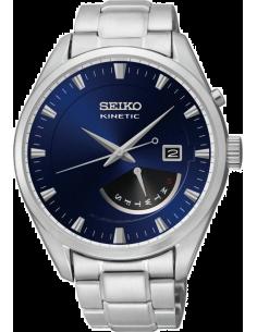 Chic Time | Montre Homme Seiko Kinetic SRN047P1 Bracelet Argenté En Acier Inoxydable  | Prix : 425,00€