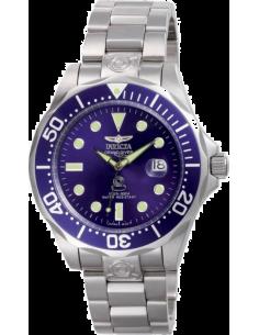 Montre Homme Invicta Pro Diver 3045 Cadran bleu et index ronds