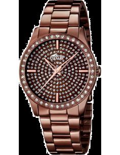 Chic Time | Montre Femme Lotus Trendy L18137/1 Couleur chocolat en acier inoxydable  | Prix : 119,00€