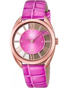Chic Time | Montre Femme Lotus Trendy L18226/1 Bracelet et cadran roses  | Prix : 119,00€