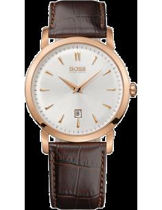 Chic Time | Montre Homme Hugo Boss 1512634 Bracelet brun et boîtier or rose  | Prix : 245,65€