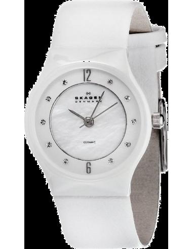 Chic Time | Montre Femme Skagen 233XSCLW Blanc  | Prix : 140,00€