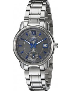 Chic Time | Montre Femme Invicta Specialty 18009 Index bleus et cadran gris  | Prix : 518,00€