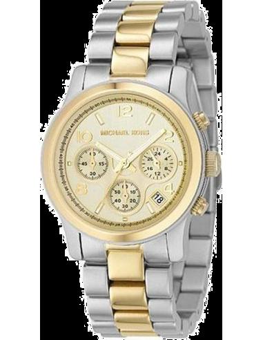 Chic Time | Montre Femme Michael Kors MK5137 dorée et argentée  | Prix : 149,40€
