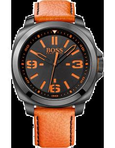 Montre Homme Boss Orange 1513098 Bracelet orange coutures noires